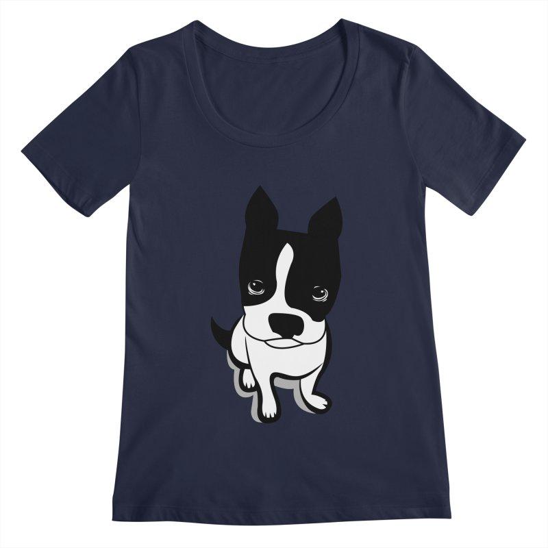 JACK the DOG Women's Scoopneck by CBHstudio's Artist Shop