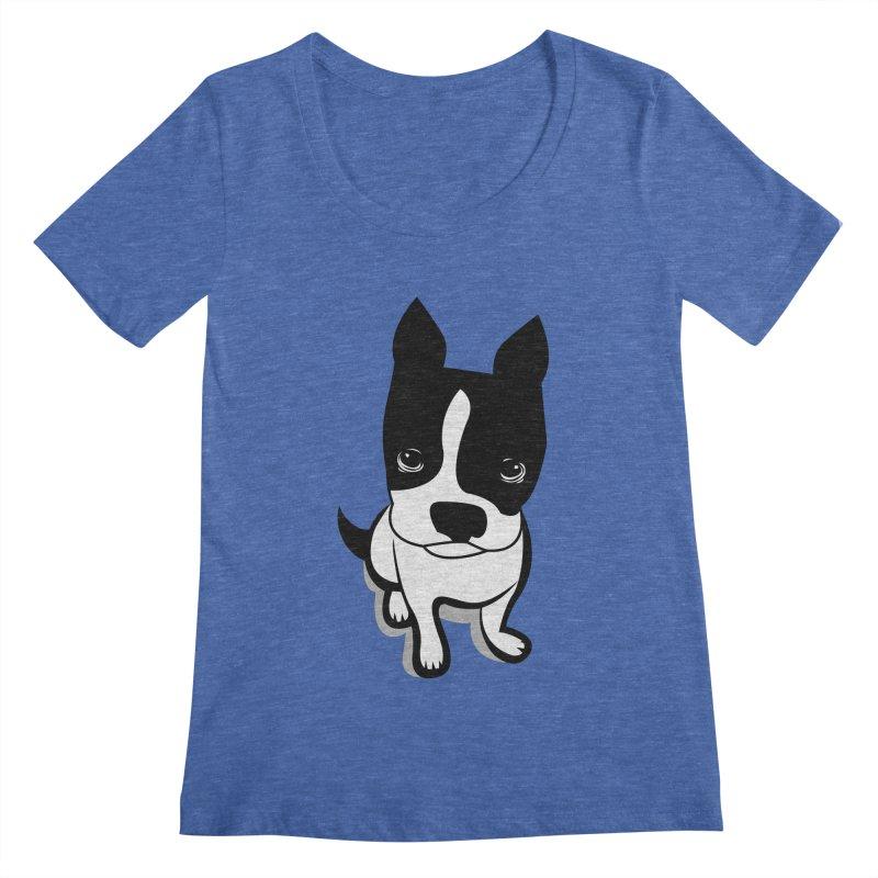 JACK the DOG Women's Regular Scoop Neck by CBHstudio's Artist Shop