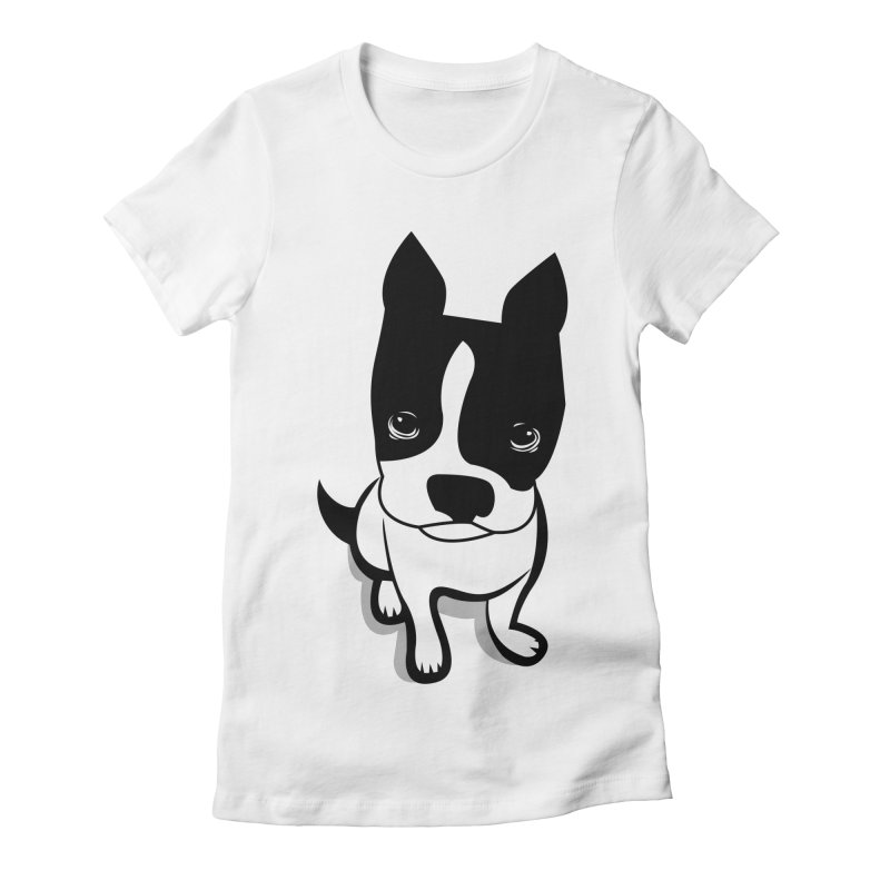 JACK the DOG Women's Fitted T-Shirt by CBHstudio's Artist Shop
