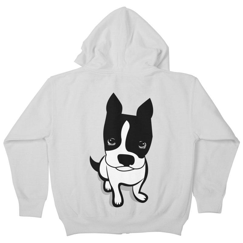 JACK the DOG Kids Zip-Up Hoody by CBHstudio's Artist Shop