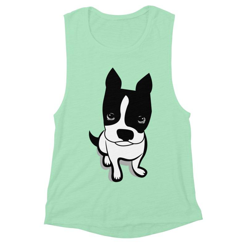 JACK the DOG Women's Muscle Tank by CBHstudio's Artist Shop