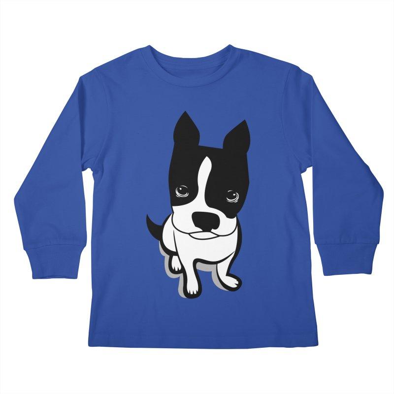 JACK the DOG Kids Longsleeve T-Shirt by CBHstudio's Artist Shop