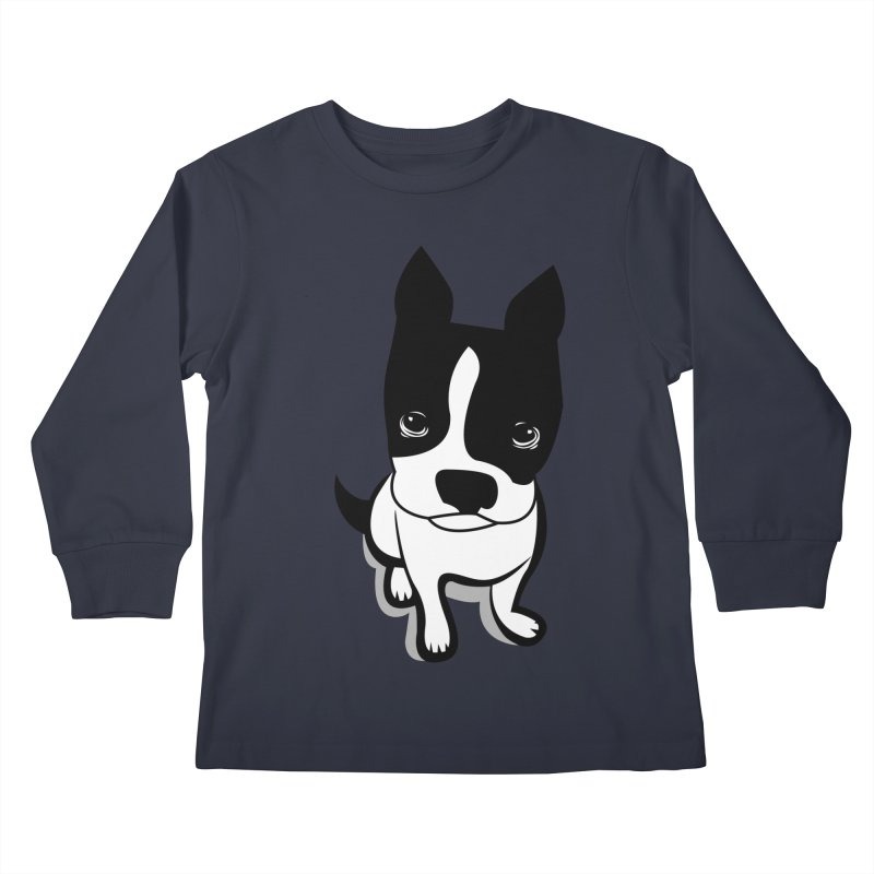 JACK the DOG Kids Longsleeve T-Shirt by CBHstudio's Artist Shop