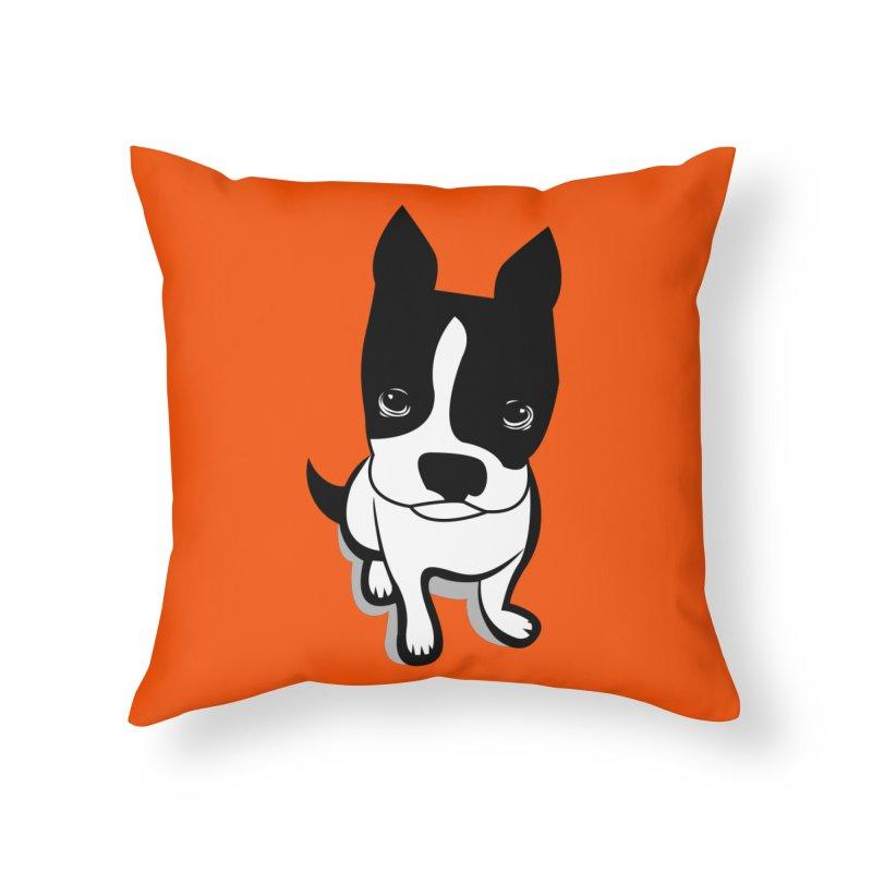 JACK the DOG Home Throw Pillow by CBHstudio's Artist Shop