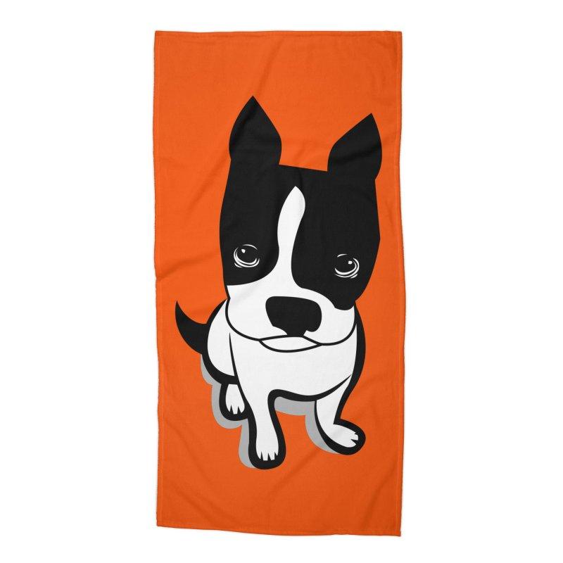 JACK the DOG Accessories Beach Towel by CBHstudio's Artist Shop