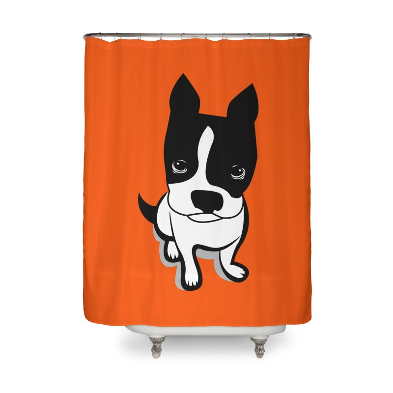 JACK the DOG Home Shower Curtain by CBHstudio's Artist Shop