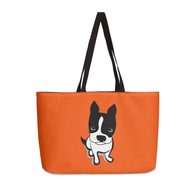 JACK the DOG Accessories Weekender Bag Bag by CBHstudio's Artist Shop