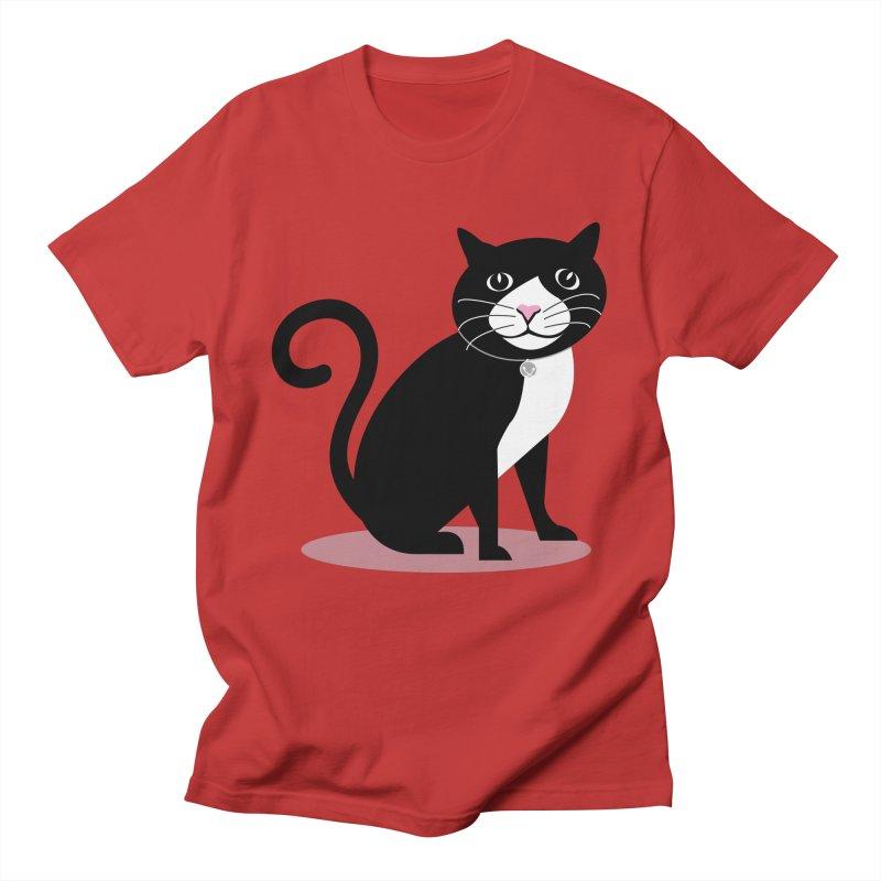 CHLOE the CAT Men's T-Shirt by CBHstudio's Artist Shop