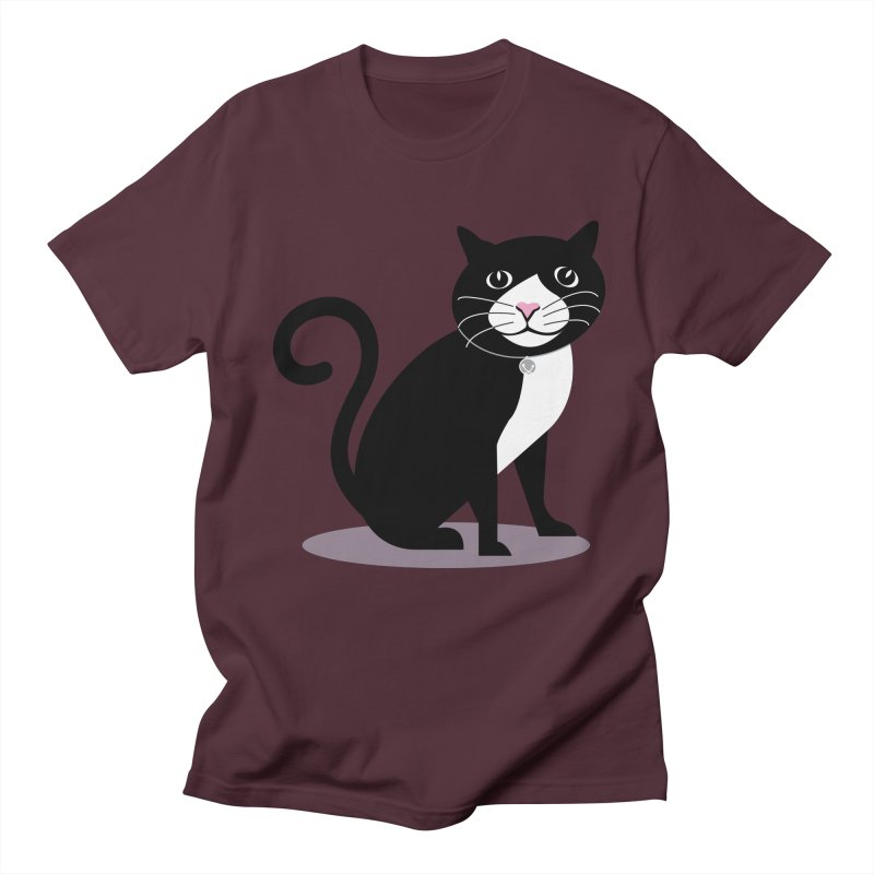 CHLOE the CAT Men's T-Shirt by CBHstudio's Artist Shop