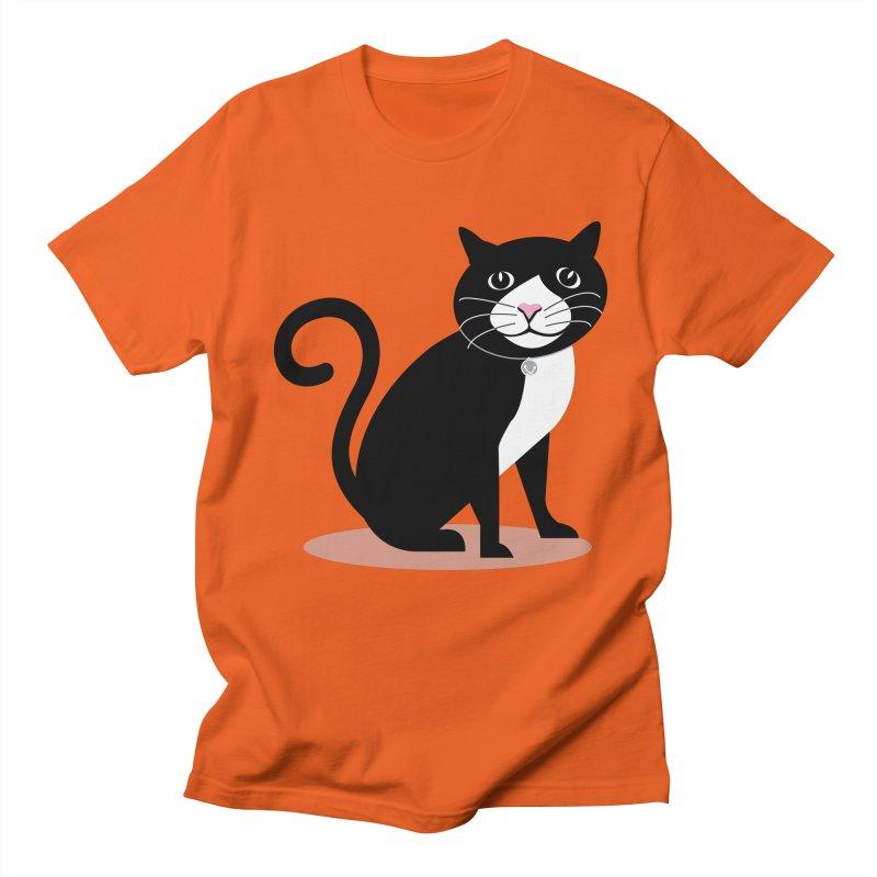 CHLOE the CAT Men's Regular T-Shirt by CBHstudio's Artist Shop