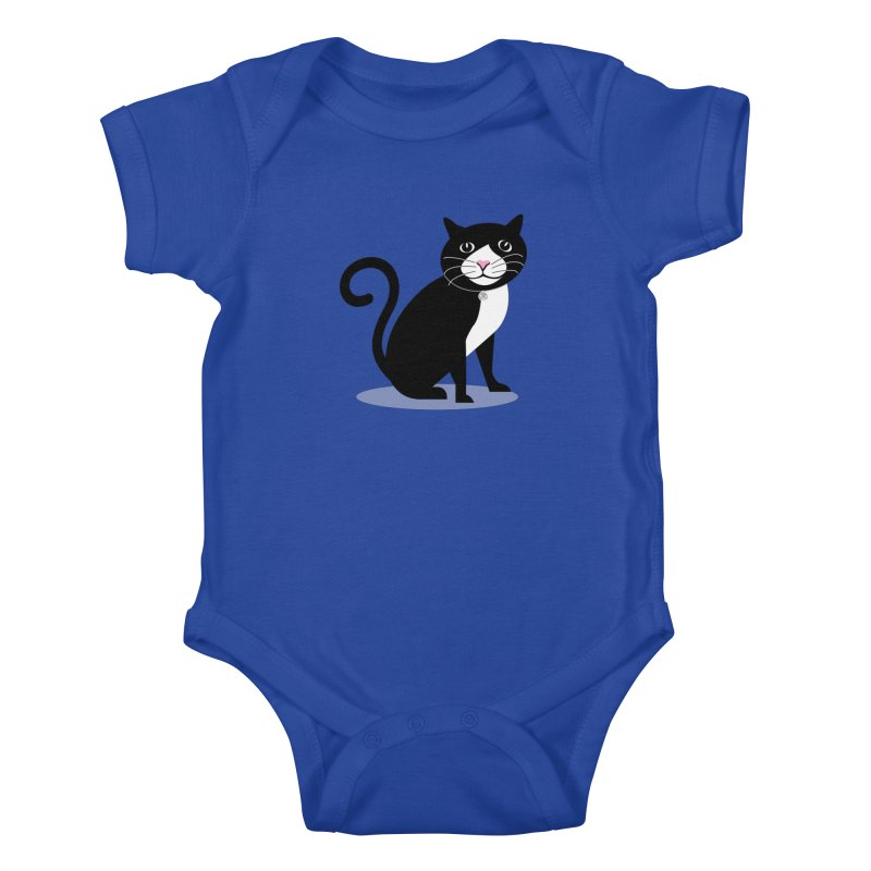 CHLOE the CAT Kids Baby Bodysuit by CBHstudio's Artist Shop