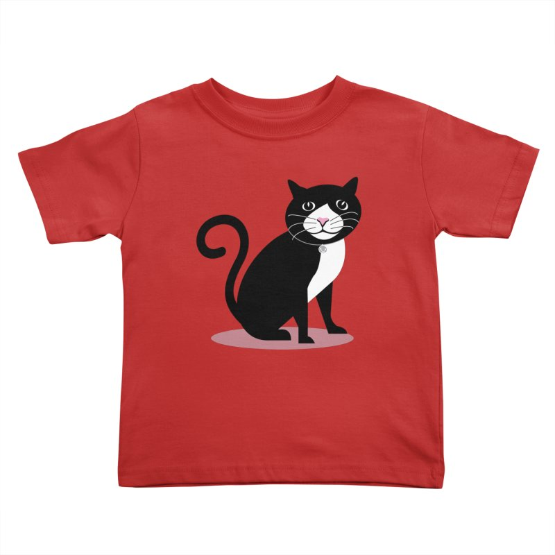 CHLOE the CAT Kids Toddler T-Shirt by CBHstudio's Artist Shop