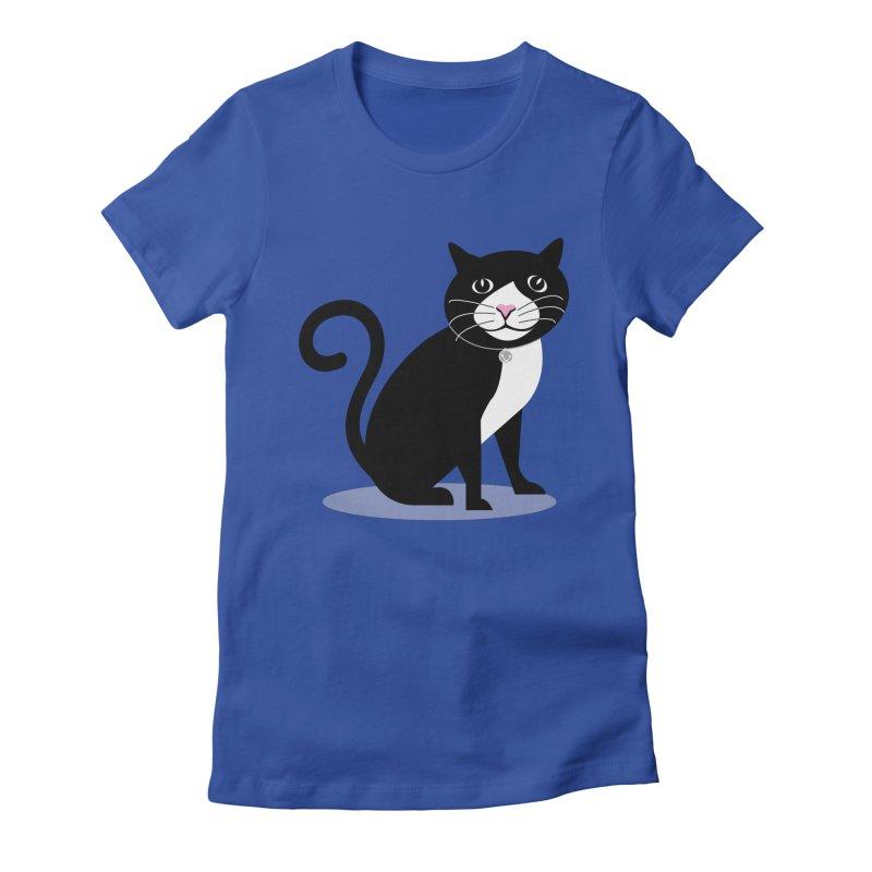 CHLOE the CAT Women's T-Shirt by CBHstudio's Artist Shop