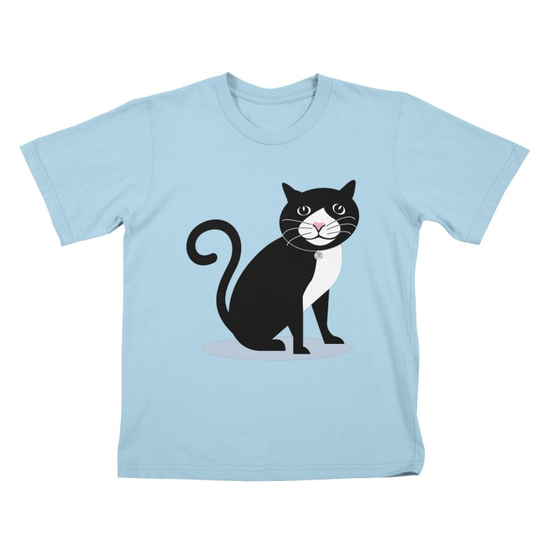 CHLOE the CAT Kids T-Shirt by CBHstudio's Artist Shop
