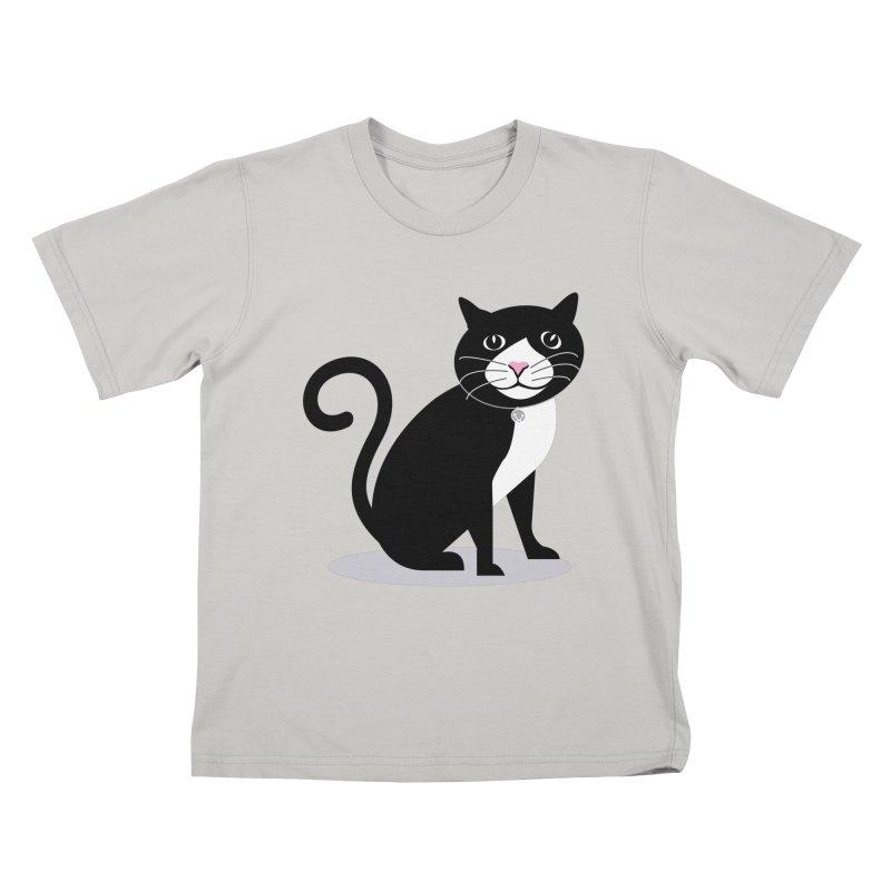 CHLOE the CAT Kids T-shirt by CBHstudio's Artist Shop