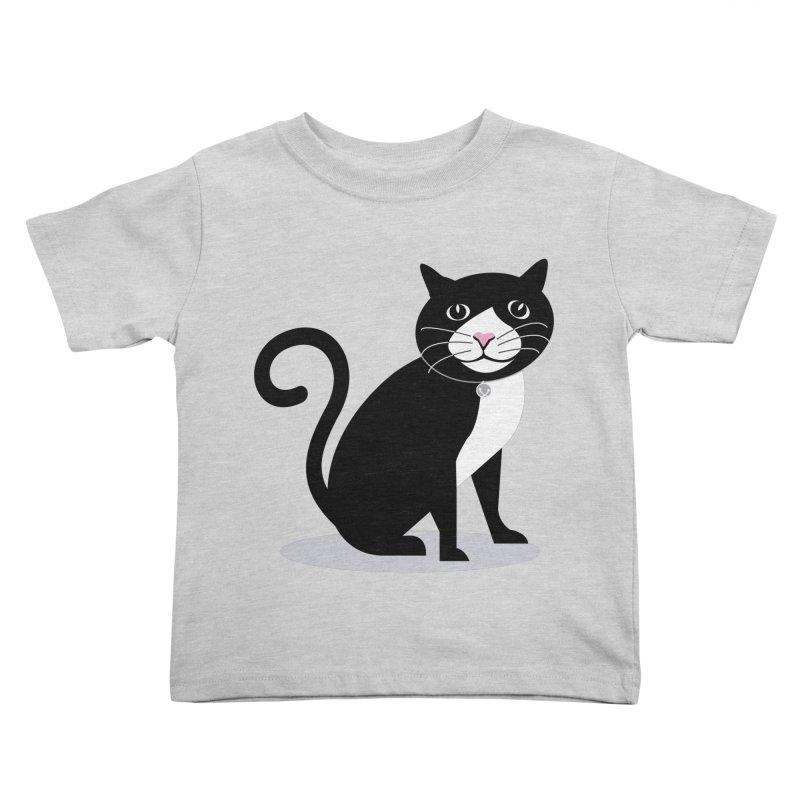CHLOE the CAT Kids Toddler T-Shirt by CBHstudio's Artist Shop