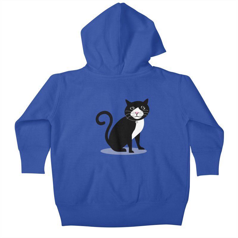 CHLOE the CAT Kids Baby Zip-Up Hoody by CBHstudio's Artist Shop