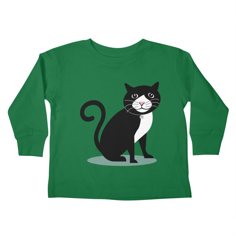 CHLOE the CAT Kids Toddler Longsleeve T-Shirt by CBHstudio's Artist Shop
