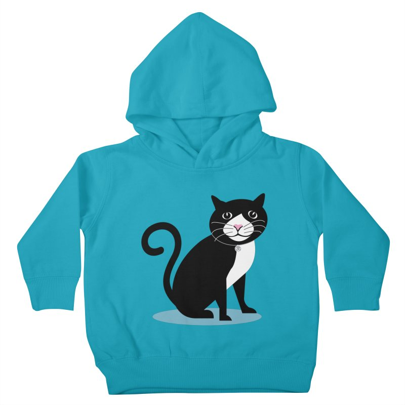 CHLOE the CAT Kids Toddler Pullover Hoody by CBHstudio's Artist Shop