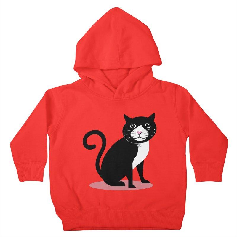 CHLOE the CAT Kids Toddler Pullover Hoody by CBHstudio's Artist Shop
