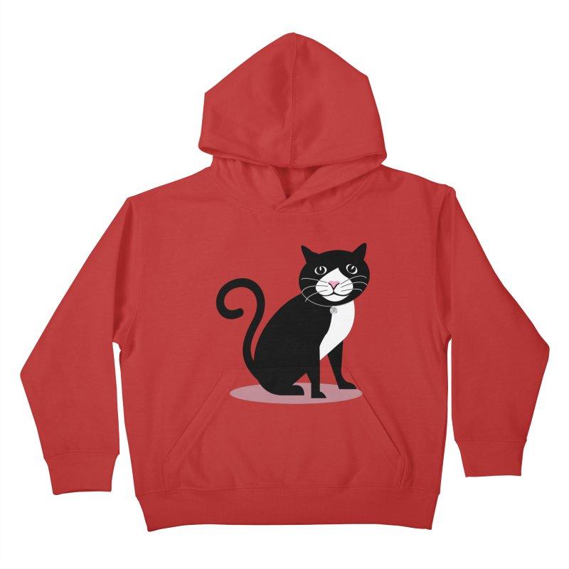 CHLOE the CAT Kids Pullover Hoody by CBHstudio's Artist Shop