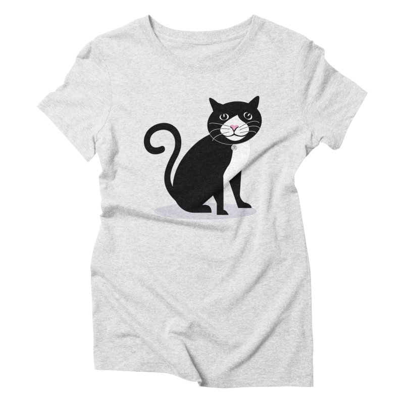 CHLOE the CAT Women's Triblend T-shirt by CBHstudio's Artist Shop