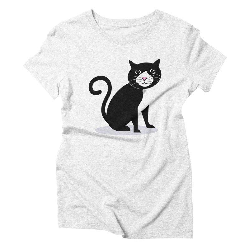 CHLOE the CAT Women's Triblend T-shirt by CBHstudio's Artist Shop