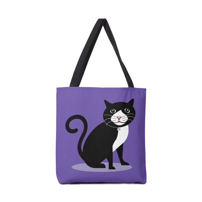 CHLOE the CAT Accessories Bag by CBHstudio's Artist Shop