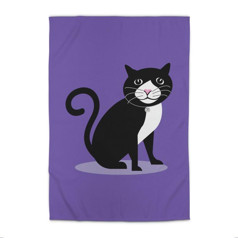 CHLOE the CAT Home Rug by CBHstudio's Artist Shop