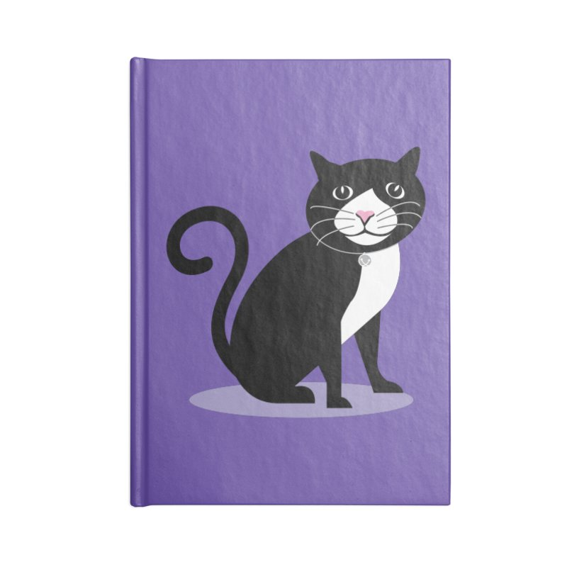 CHLOE the CAT Accessories Lined Journal Notebook by CBHstudio's Artist Shop