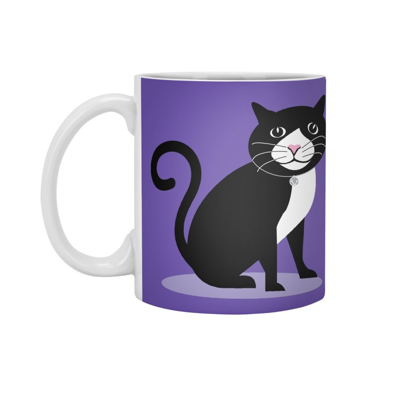 CHLOE the CAT Accessories Standard Mug by CBHstudio's Artist Shop