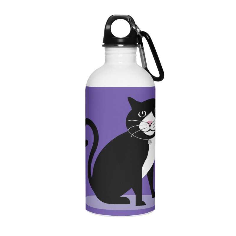 CHLOE the CAT Accessories Water Bottle by CBHstudio's Artist Shop