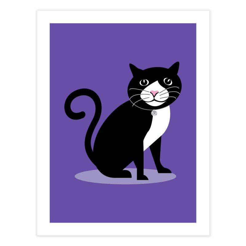 CHLOE the CAT Home Fine Art Print by CBHstudio's Artist Shop