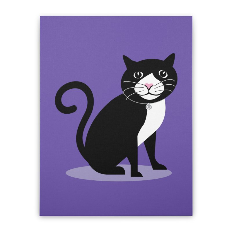 CHLOE the CAT Home Stretched Canvas by CBHstudio's Artist Shop