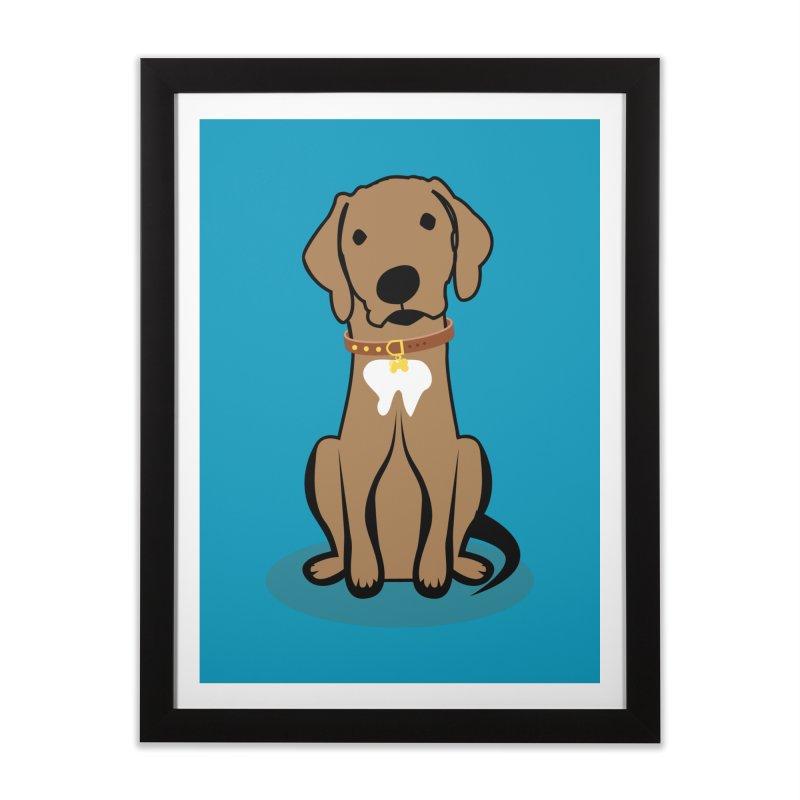 MILO the DOG Home Framed Fine Art Print by CBHstudio's Artist Shop