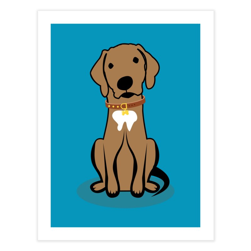 MILO the DOG Home Fine Art Print by CBHstudio's Artist Shop