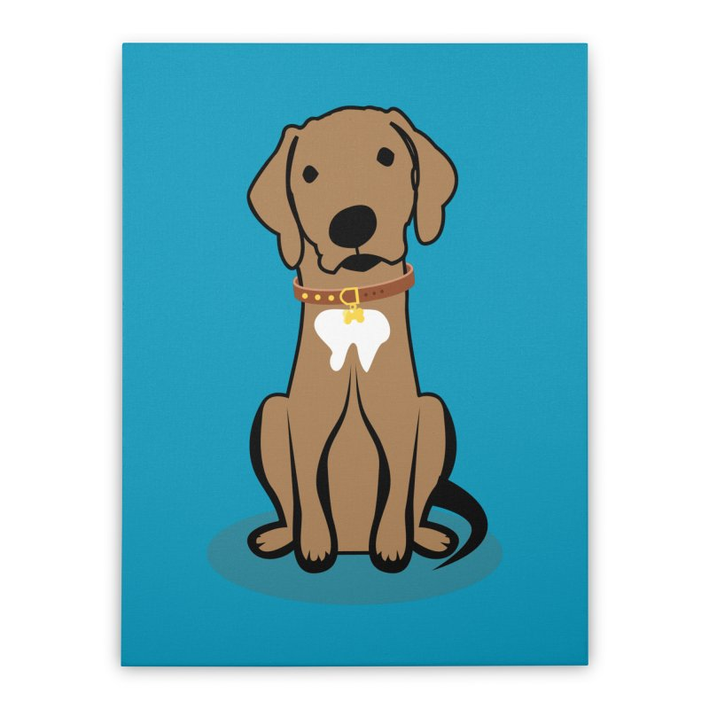 MILO the DOG Home Stretched Canvas by CBHstudio's Artist Shop