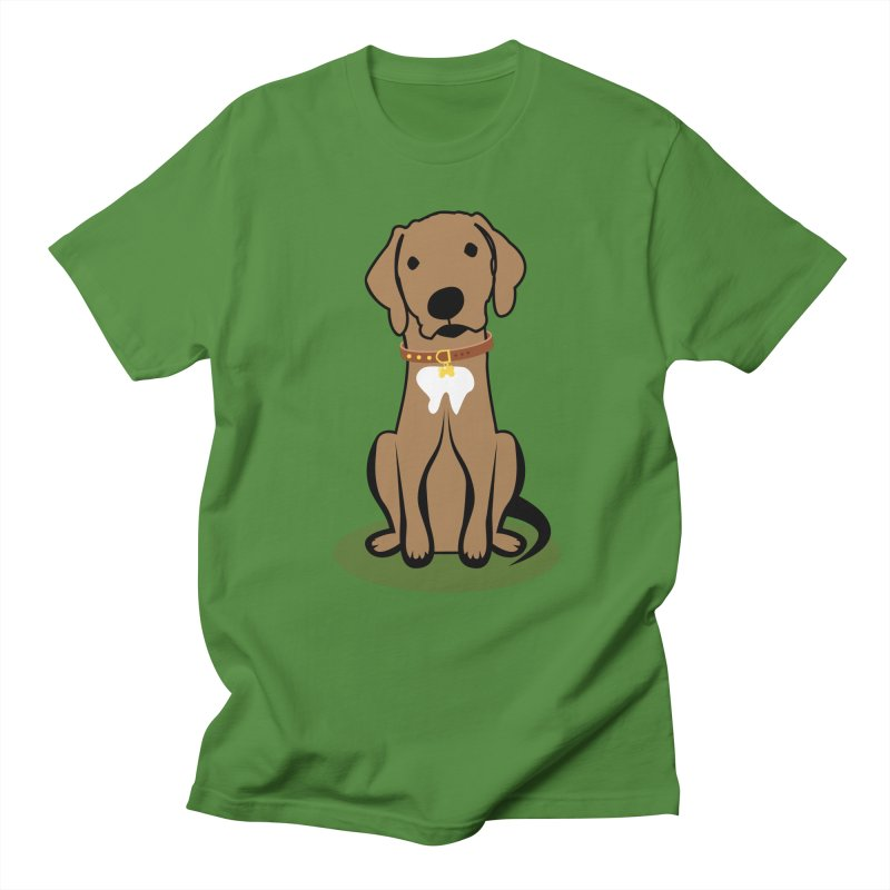 MILO the DOG in Men's Regular T-Shirt Clover by CBHstudio's Artist Shop