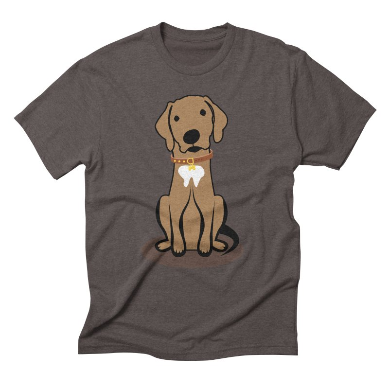 MILO the DOG Men's Triblend T-Shirt by CBHstudio's Artist Shop