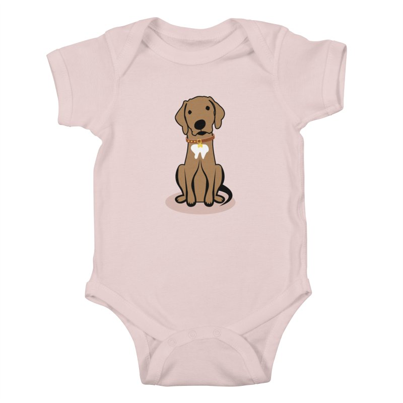 MILO the DOG Kids Baby Bodysuit by CBHstudio's Artist Shop