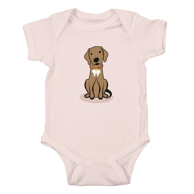 MILO the DOG Kids Baby Bodysuit by CBHstudio's Artist Shop