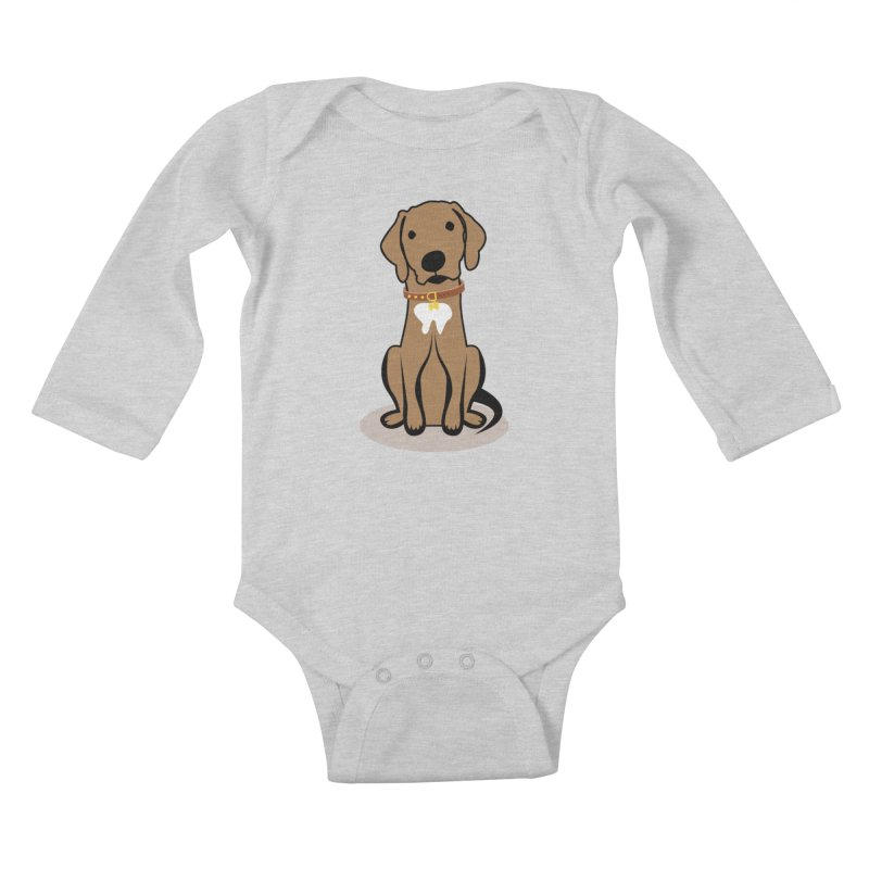 MILO the DOG Kids Baby Longsleeve Bodysuit by CBHstudio's Artist Shop