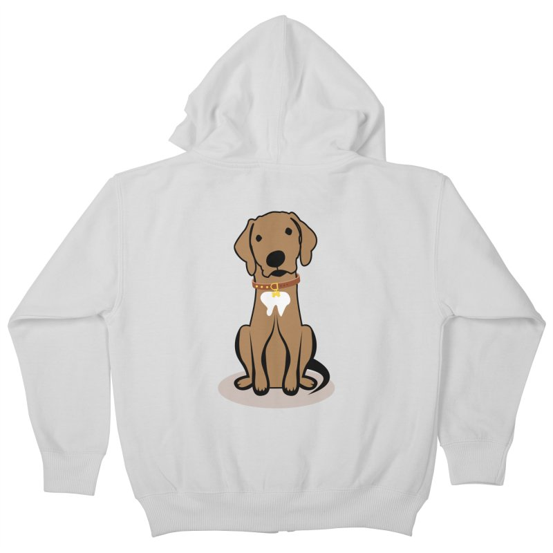 MILO the DOG Kids Zip-Up Hoody by CBHstudio's Artist Shop