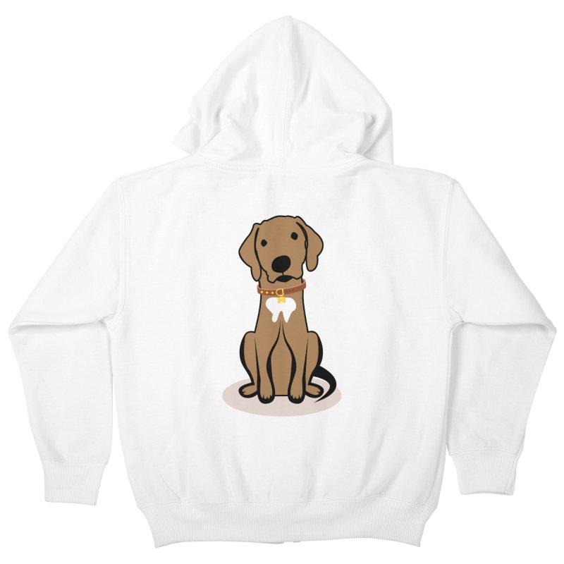 MILO the DOG Kids Zip-Up Hoody by CBHstudio's Artist Shop