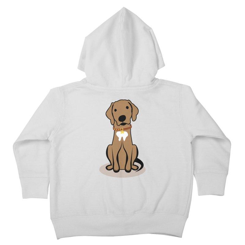 MILO the DOG Kids Toddler Zip-Up Hoody by CBHstudio's Artist Shop