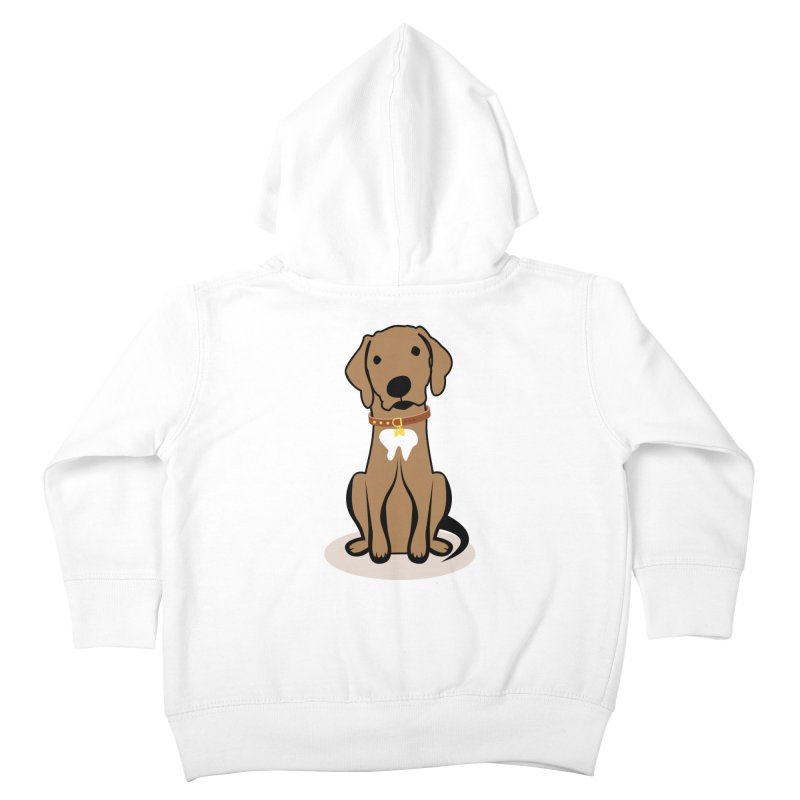 MILO the DOG Kids Toddler Zip-Up Hoody by CBHstudio's Artist Shop