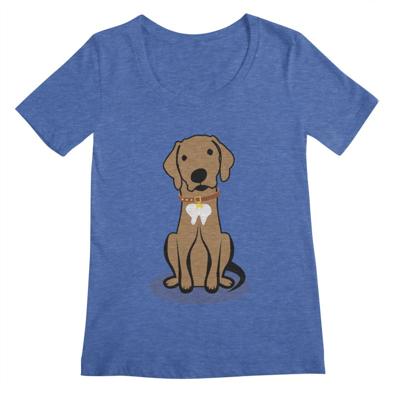 MILO the DOG Women's Regular Scoop Neck by CBHstudio's Artist Shop