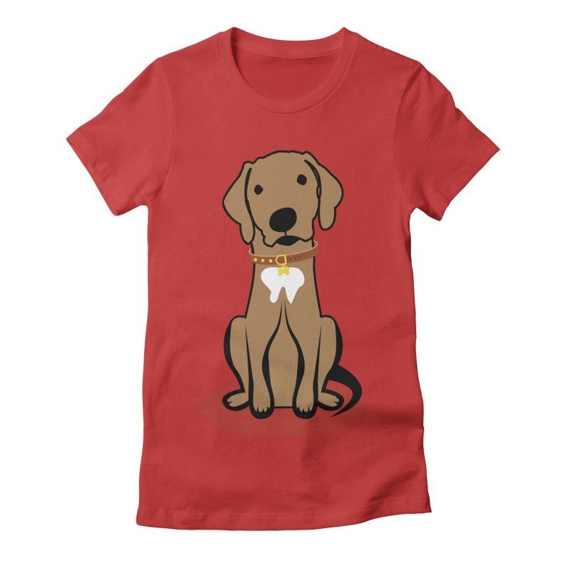MILO the DOG Women's Fitted T-Shirt by CBHstudio's Artist Shop