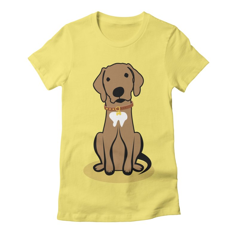 MILO the DOG Women's Fitted T-Shirt by CBHstudio's Artist Shop