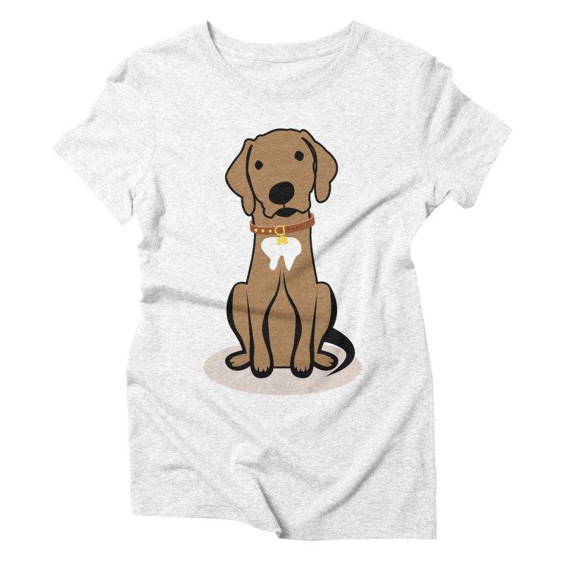 MILO the DOG Women's Triblend T-shirt by CBHstudio's Artist Shop